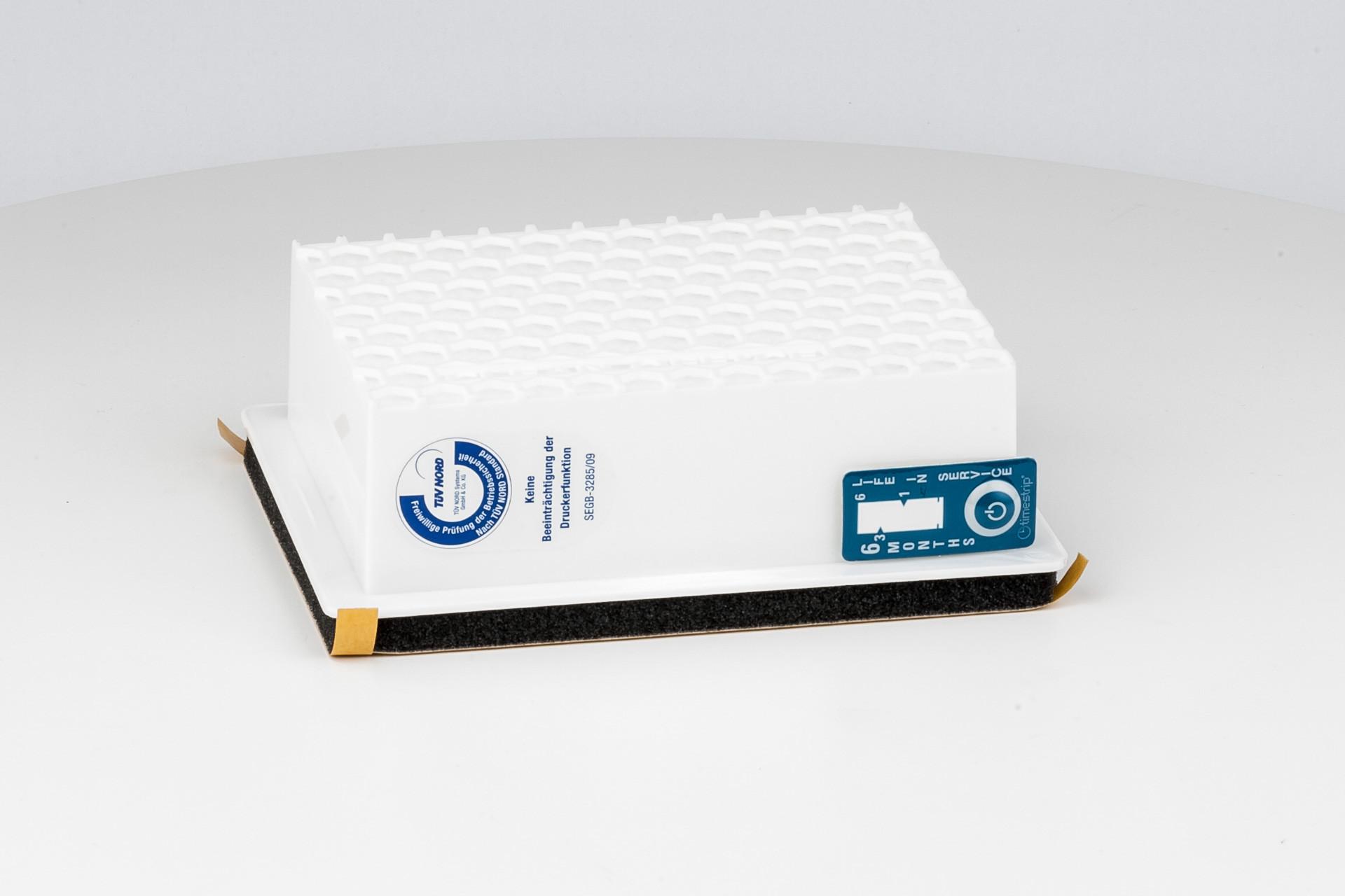 CLEAN OFFICE Feinstaubfilter für Laserdrucker und Kopierer (Doppelpack)