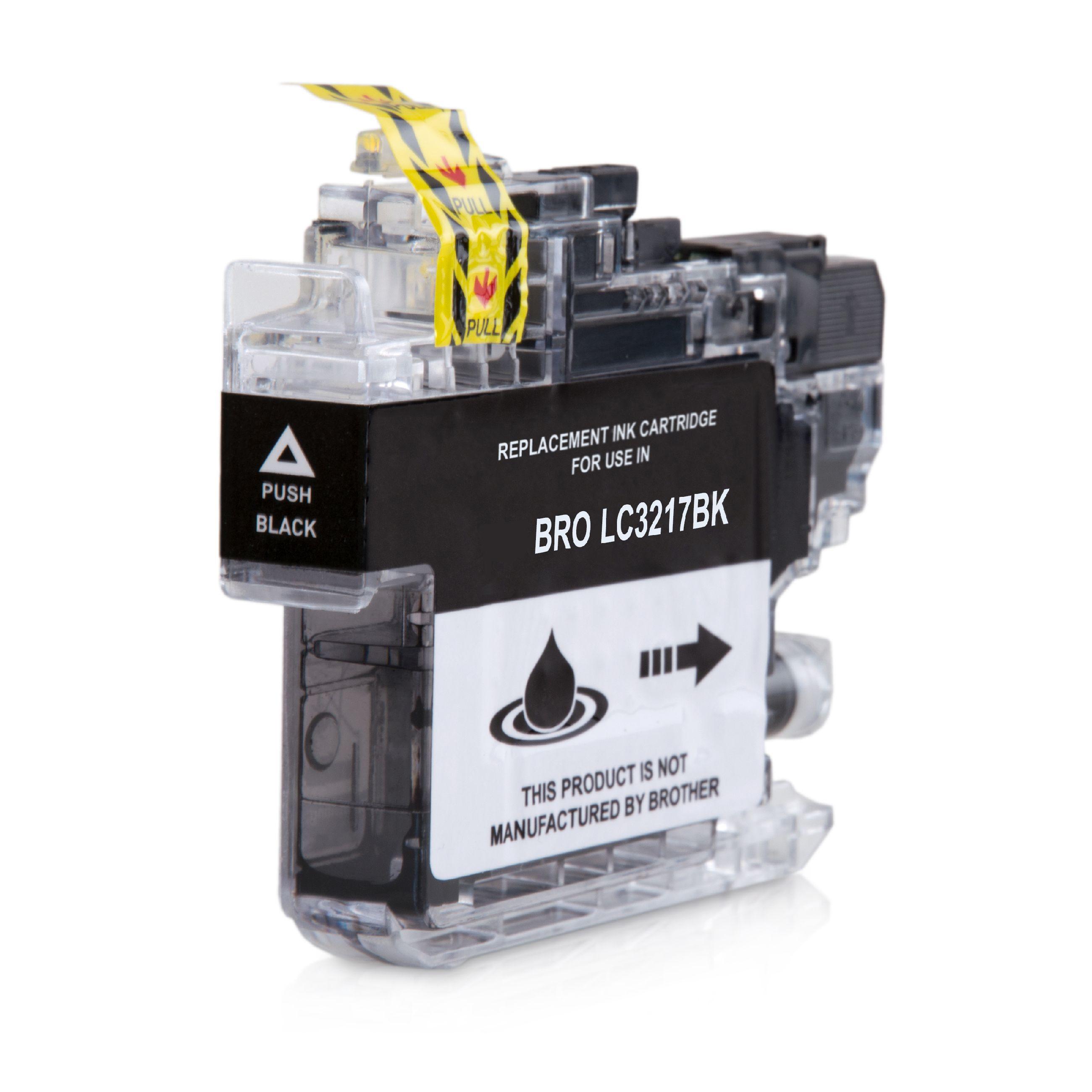 Bild fuer den Artikel IC-BRO3217bk: Alternativ-Tinte BROTHER LC-3217BK in schwarz