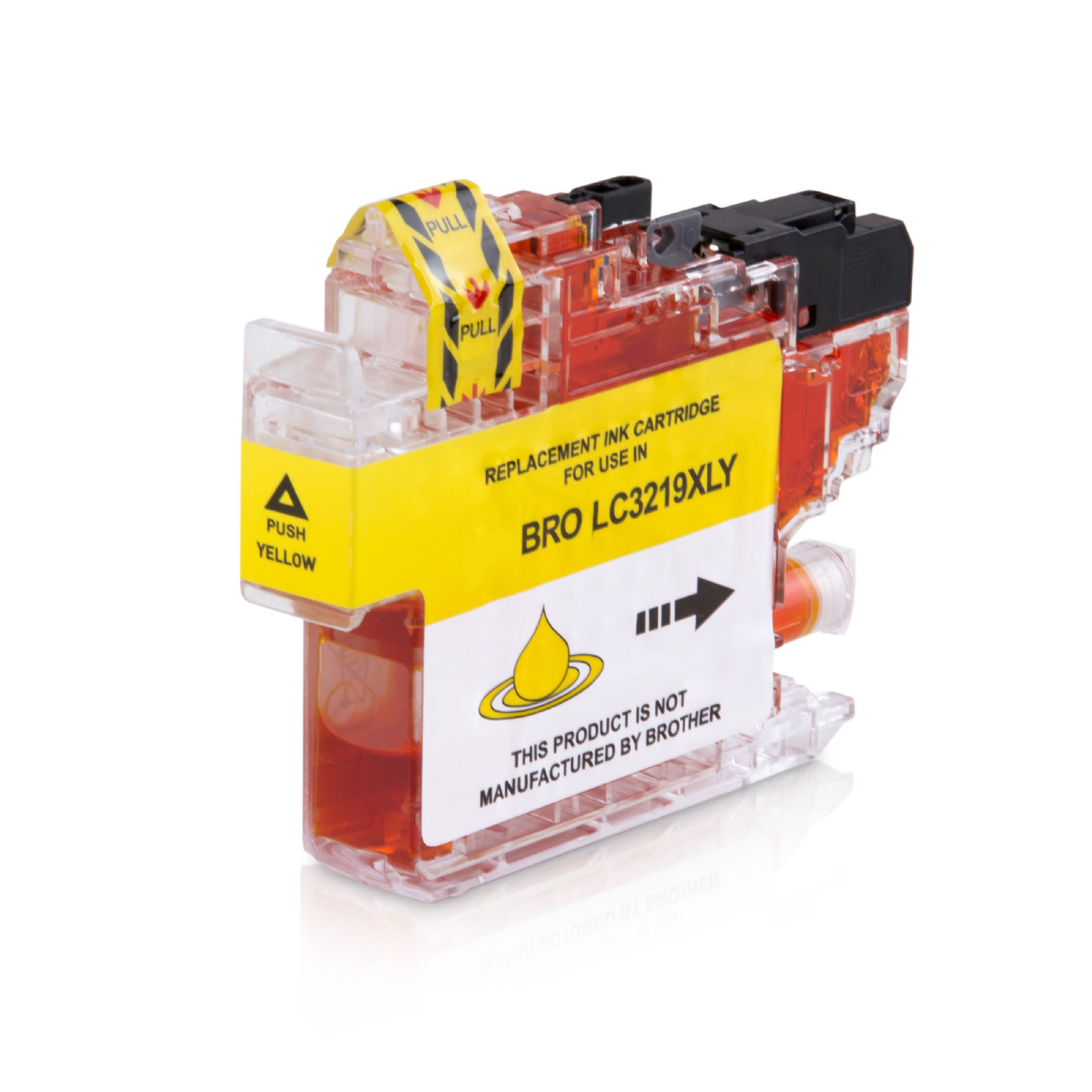 Bild fuer den Artikel IC-BRO3219XLye: Alternativ-Tinte BROTHER LC-3219XLY XL-Version in gelb