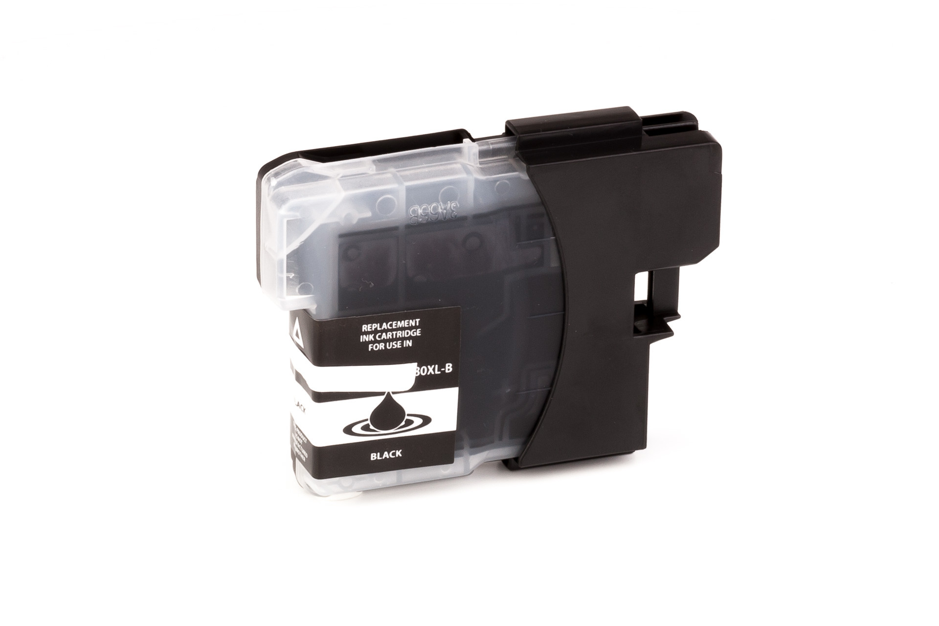 Alternativ-Tinte fuer Brother  LC-980 BK /  LC-1100 BK schwarz