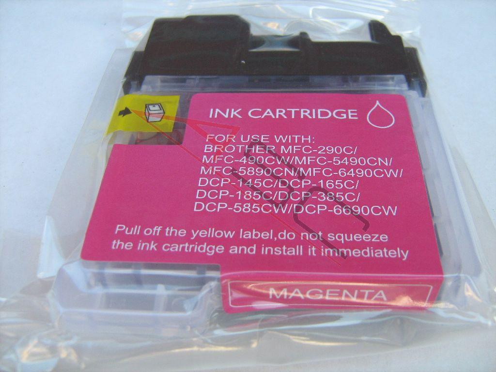Alternativ-Tinte für Brother LC1100 magenta