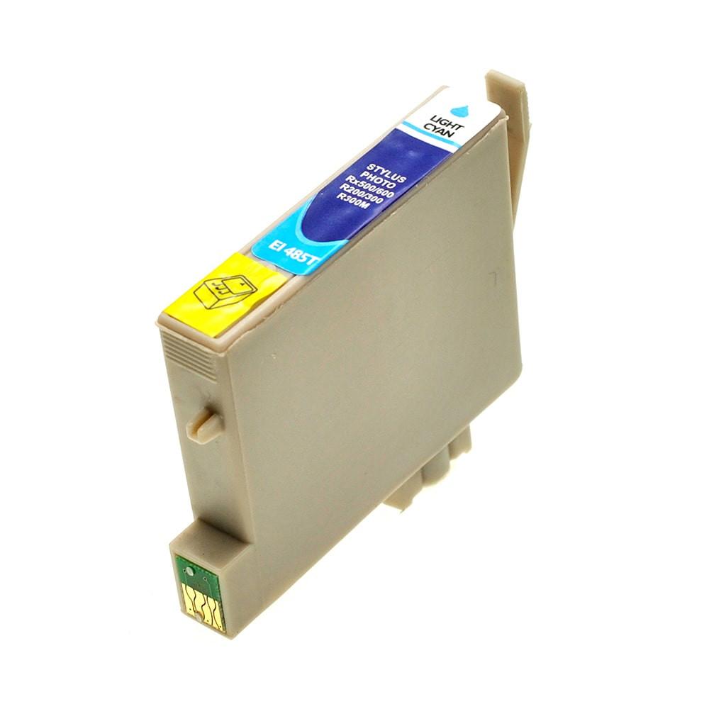 Bild fuer den Artikel IC-EPST048pc: Alternativ Tinte EPSON T0485 C13T04854010 XL Version photo in cyan