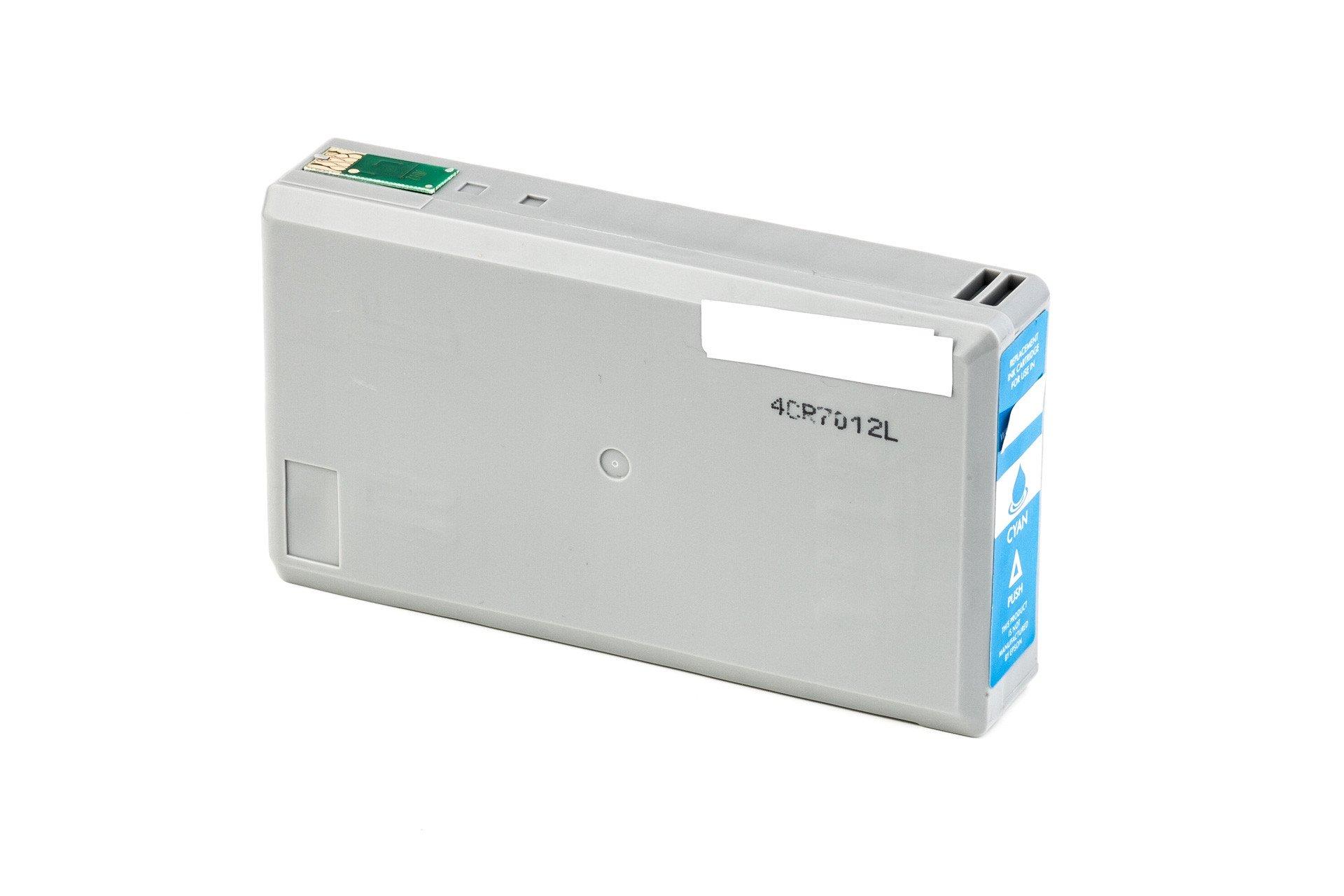 Alternativ-Tinte für Epson T0712 / C13T07124011 XL-Version cyan