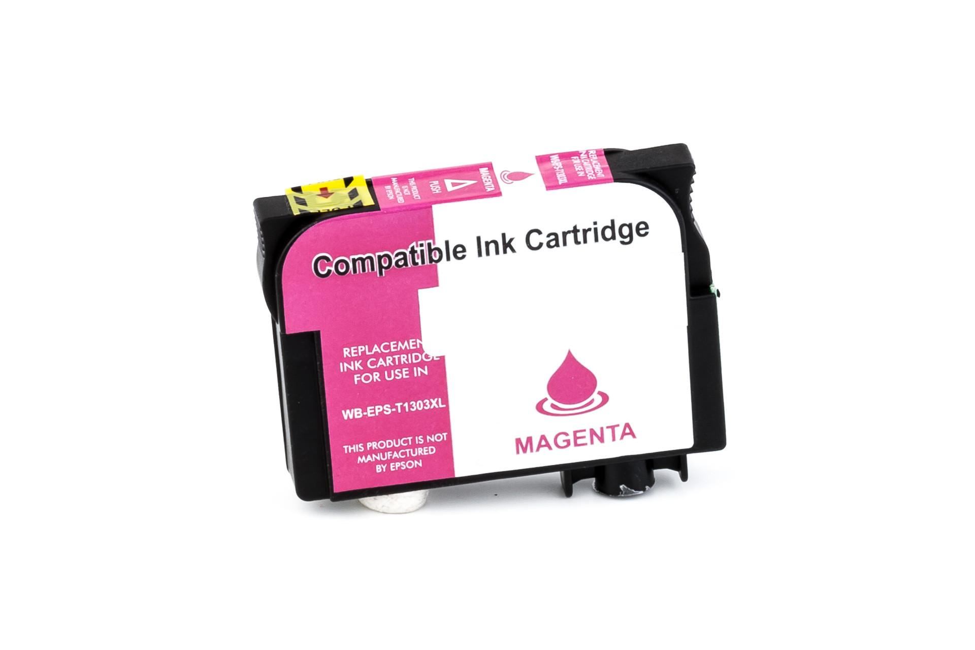 Alternativ-Tinte für Epson T1303 / C13T13034010 magenta