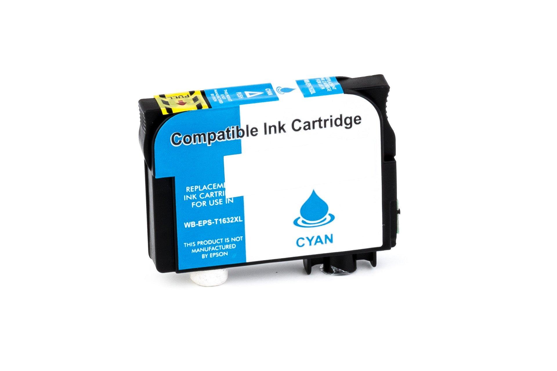 Alternativ-Tinte für Epson 16XL / C13T16324010 cyan
