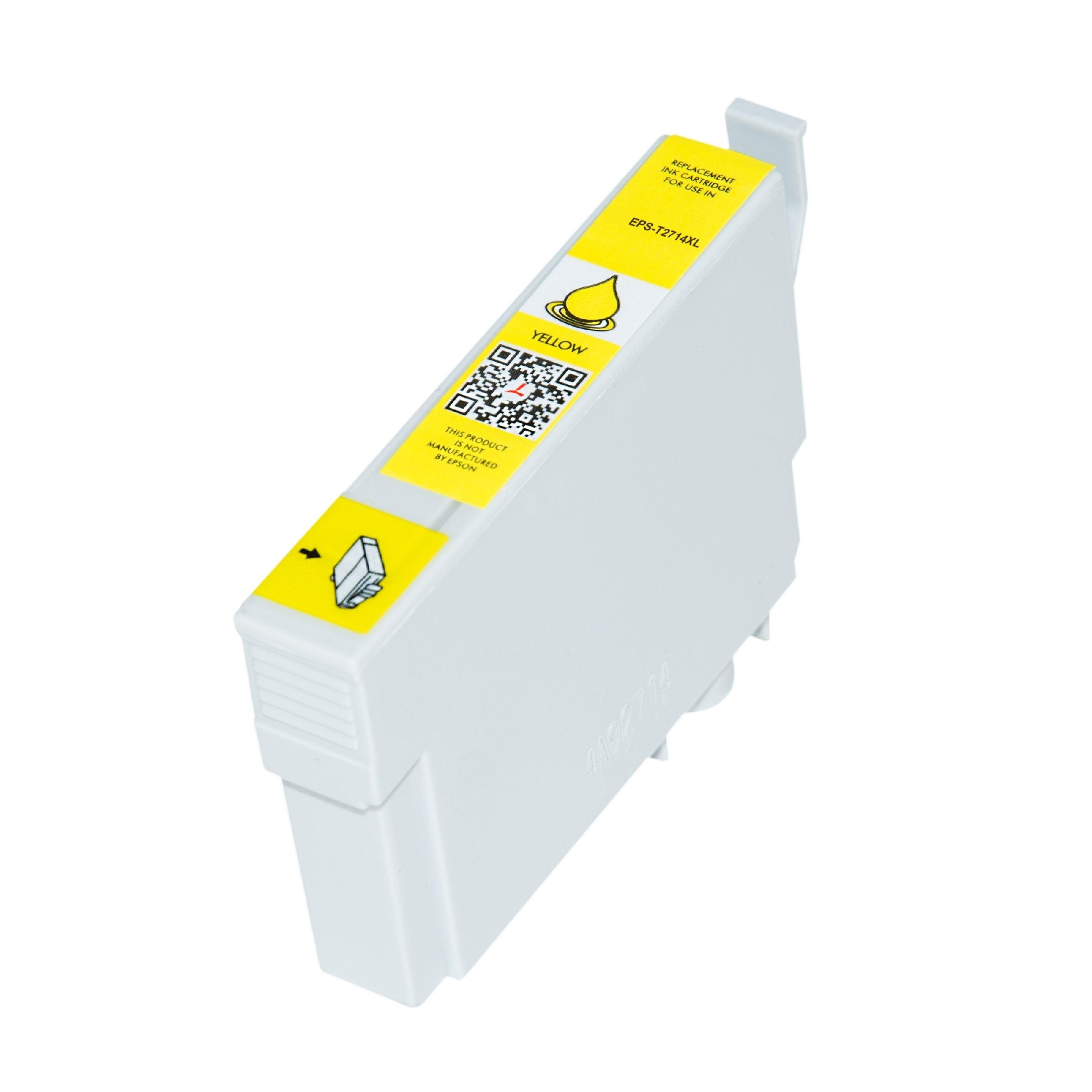 Bild fuer den Artikel IC-EPST2714ye: Alternativ Tinte Epson 27XL C13T27144010 in gelb