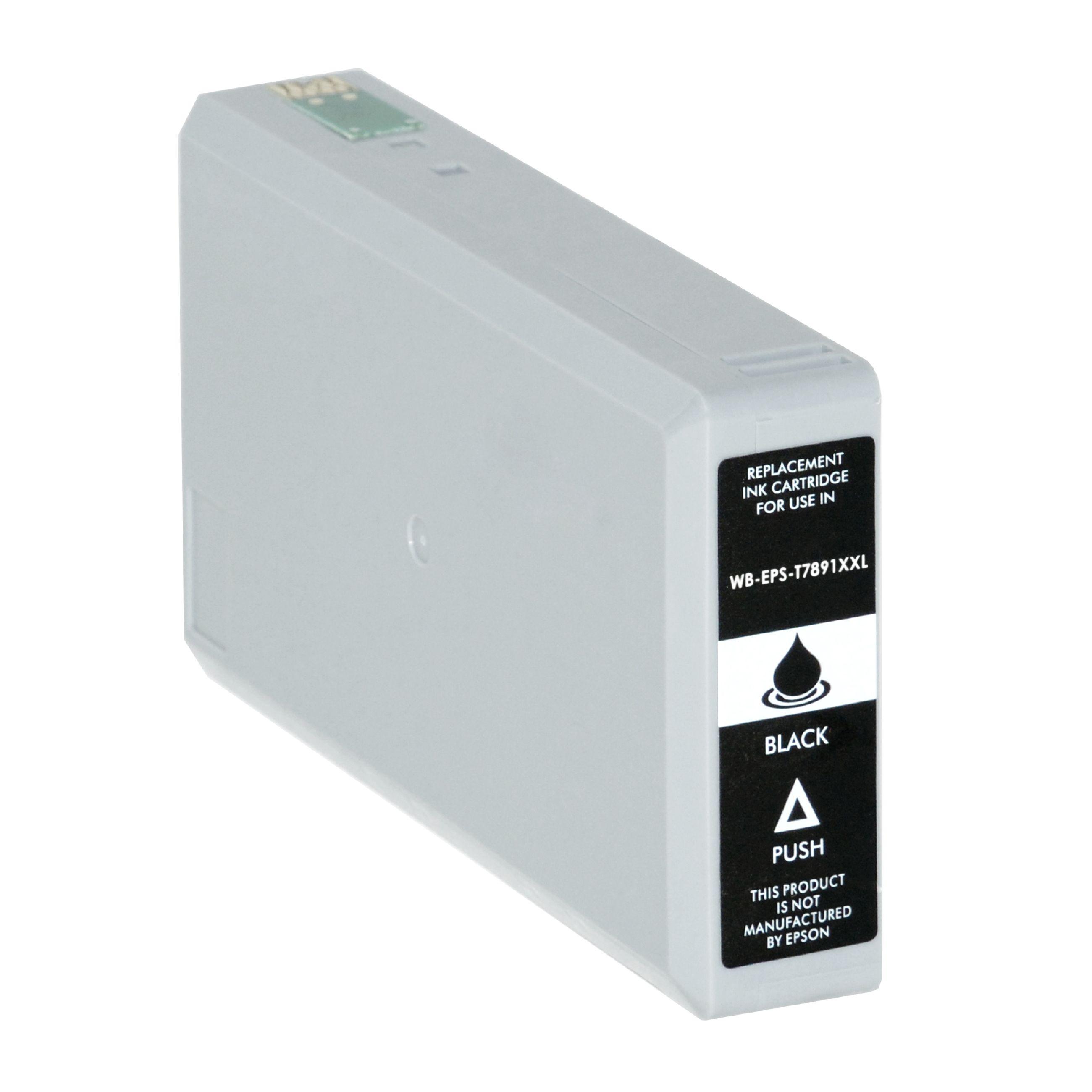 Bild für den Artikel IC-EPST7891bk: Alternativ-Tinte Epson T7891 / C13T789140 in schwarz