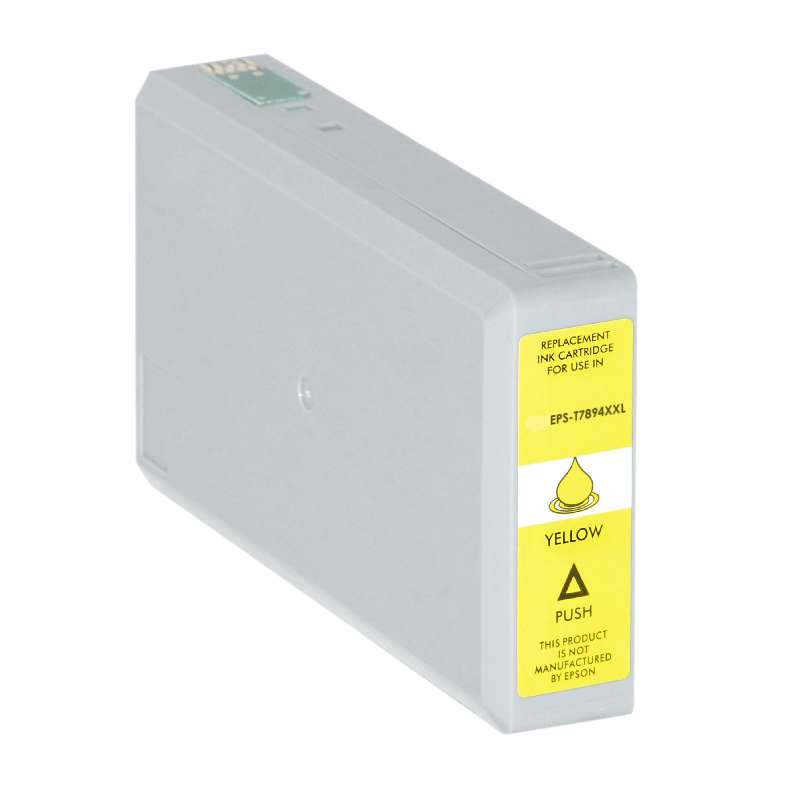 Bild für den Artikel IC-EPST7894ye: Alternativ-Tinte Epson T7894 / C13T789440 in gelb
