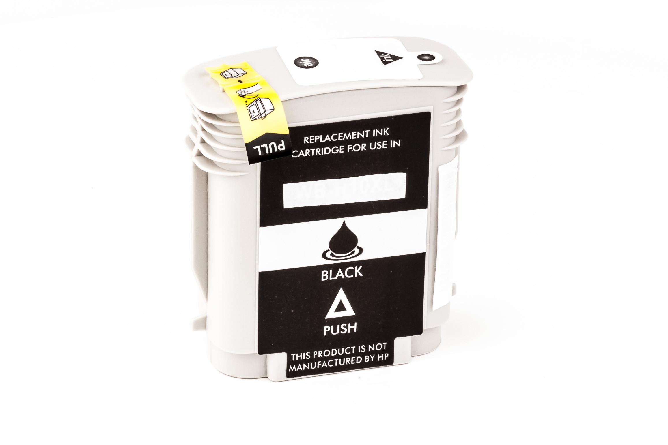 Alternativ-Tinte für HP C4844AE / Nr. 10 schwarz