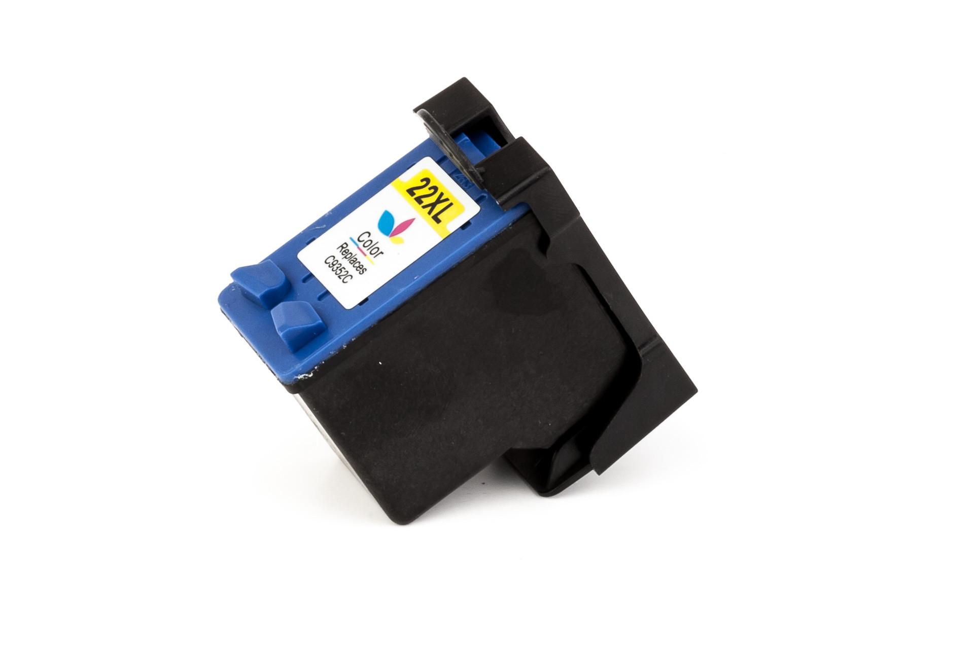 Alternativ-Tinte für HP Nr. 22 / C9352AE XL-Version tricolor
