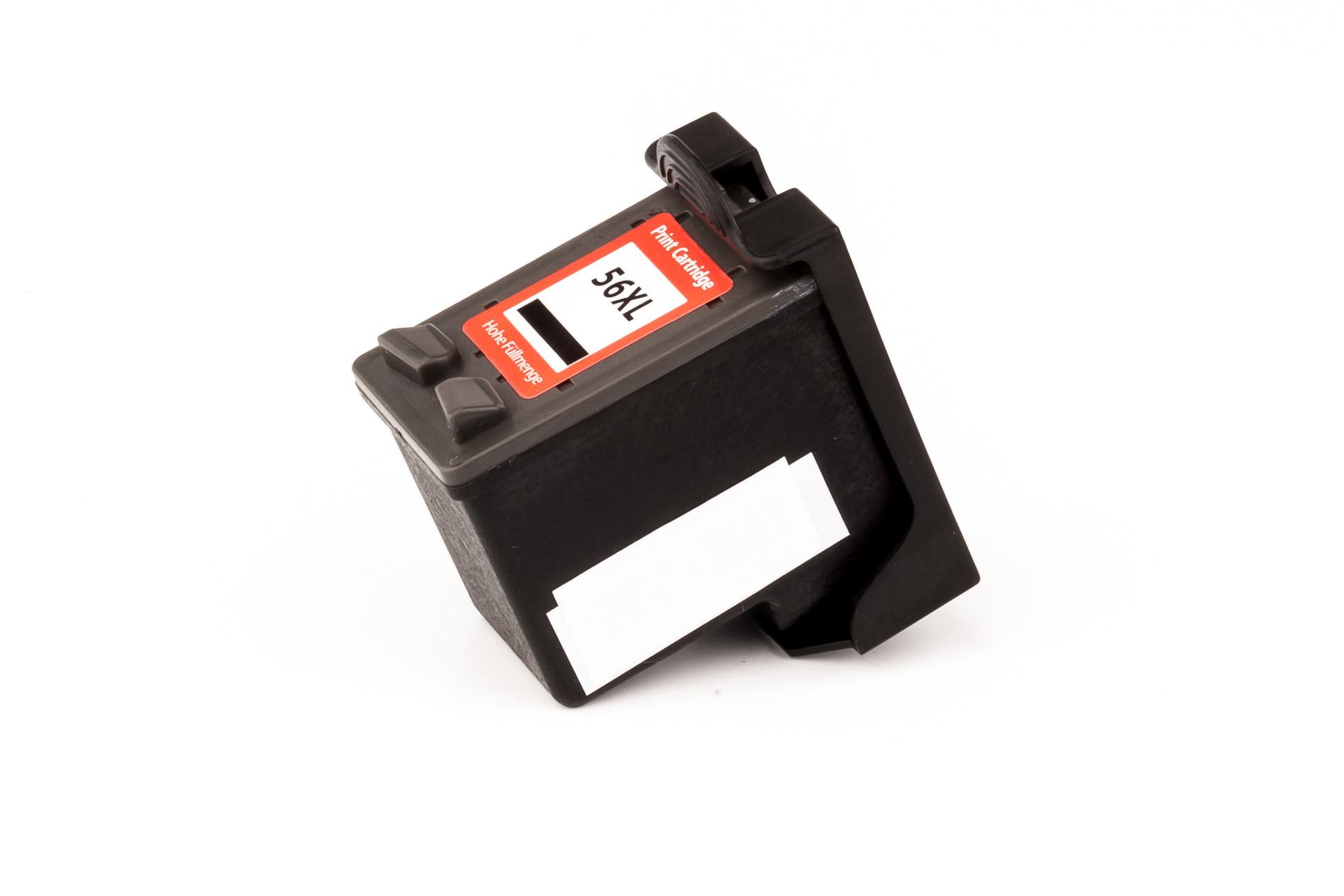 Alternativ-Tinte für HP Nr. 56 / C6656AE schwarz