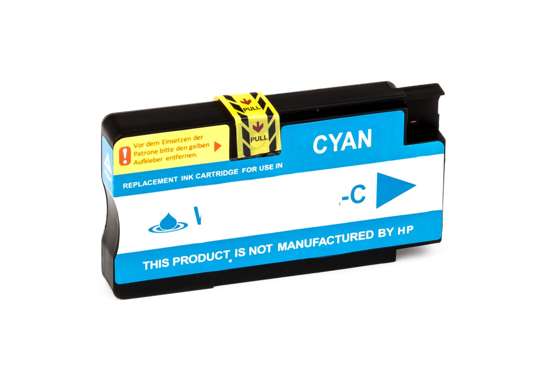 Alternativ-Tinte fuer HP 951XL / CN046AE XL-Version cyan