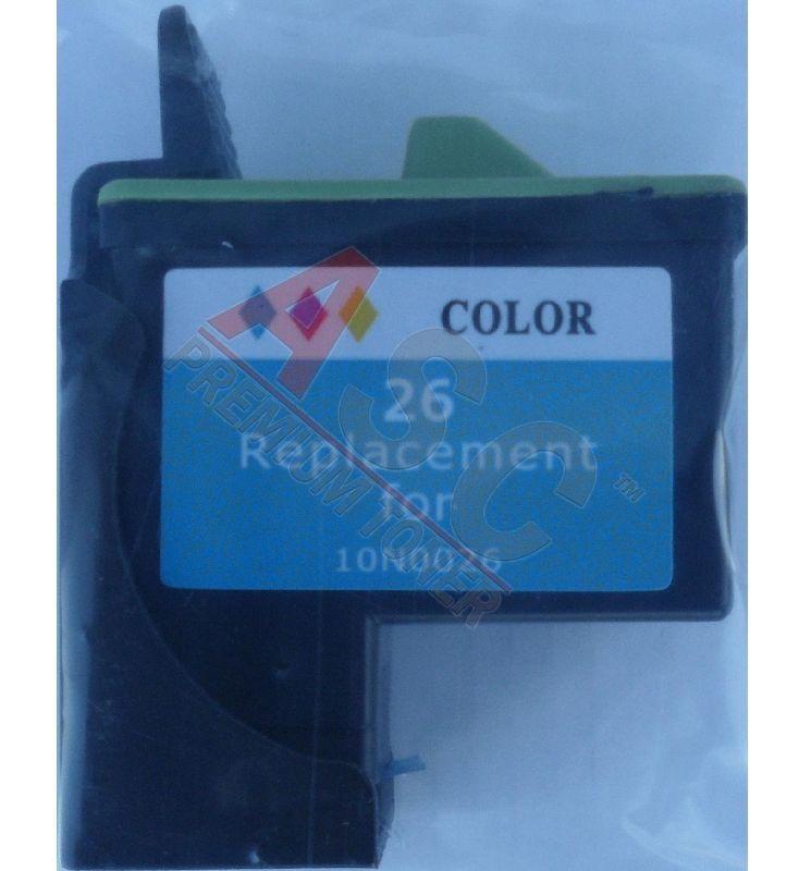 Alternativ-Tinte für Lexmark 010N0026E  No. 26 tricolor