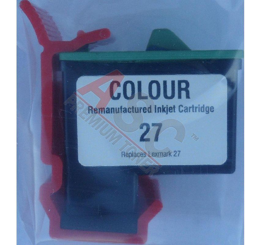 Alternativ-Tinte für Lexmark 010N0227E  No. 27 tricolor