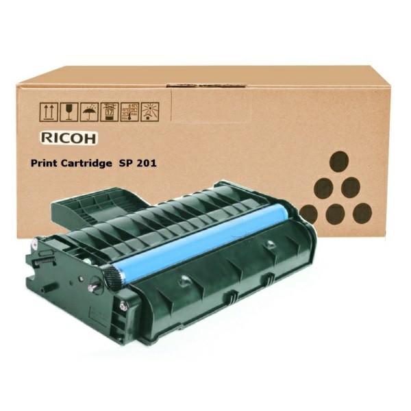 Original Toner schwarz Ricoh 407999/TYPE SP 201 schwarz