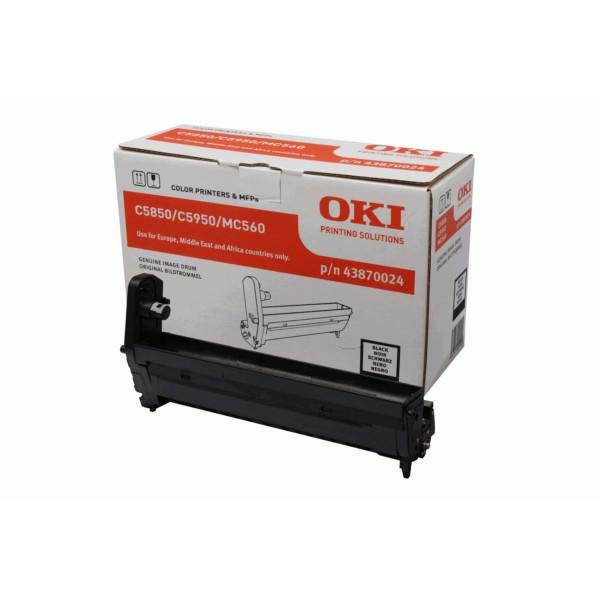 Original Drum Kit OKI 43870024 schwarz