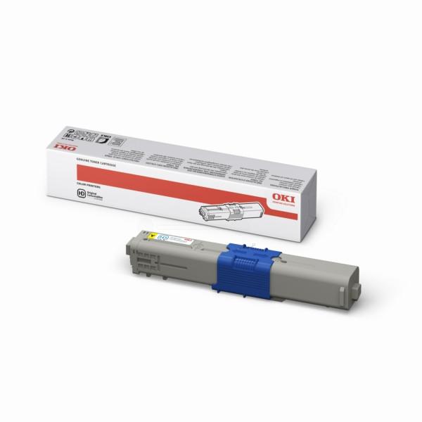 44469704 Gelb Toner kompatibel  OKI C 331 DN