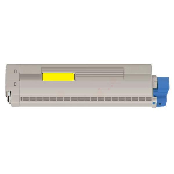 Original Toner OKI 45862837 gelb