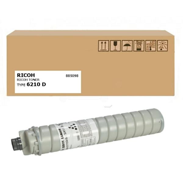 Original Toner schwarz Ricoh 885098/TYPE 6210 D schwarz