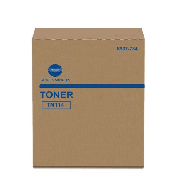 Original Toner Konica Minolta 8937784/TN-114 schwarz