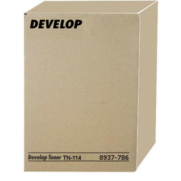 Original Toner schwarz Develop 8937786000/TN-114 schwarz
