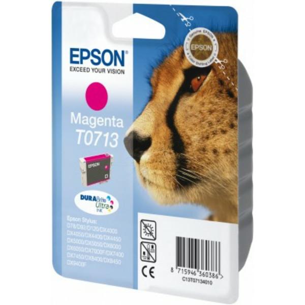 Original Tintenpatrone magenta Epson C13T07134012/T0713 magenta