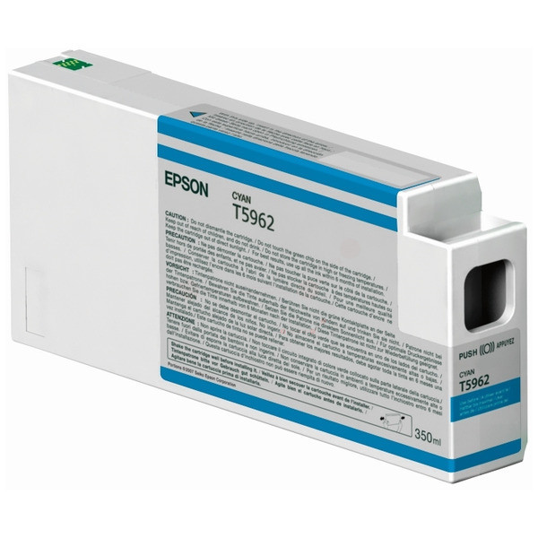Original Tintenpatrone Epson C13T596200/T5962 cyan
