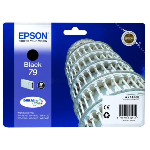 Original Tintenpatrone schwarz Epson C13T79114010/79 schwarz