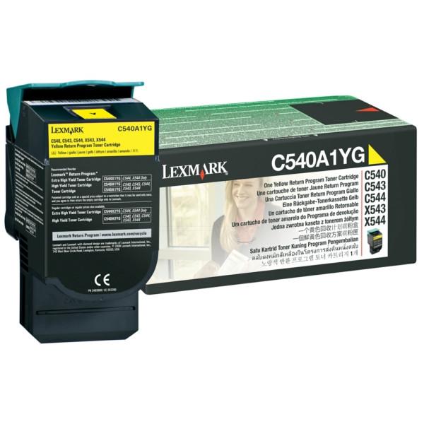 Original Toner gelb Lexmark C540A1YG gelb