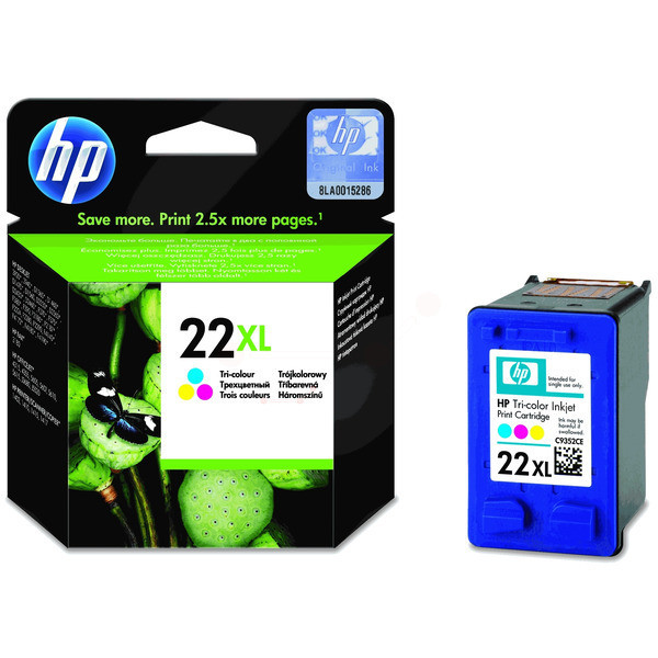 Original Druckkopf color HP C9352CE/22XL color