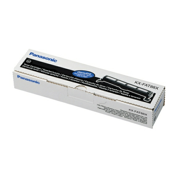 Original Toner schwarz Panasonic KXFAT88X schwarz