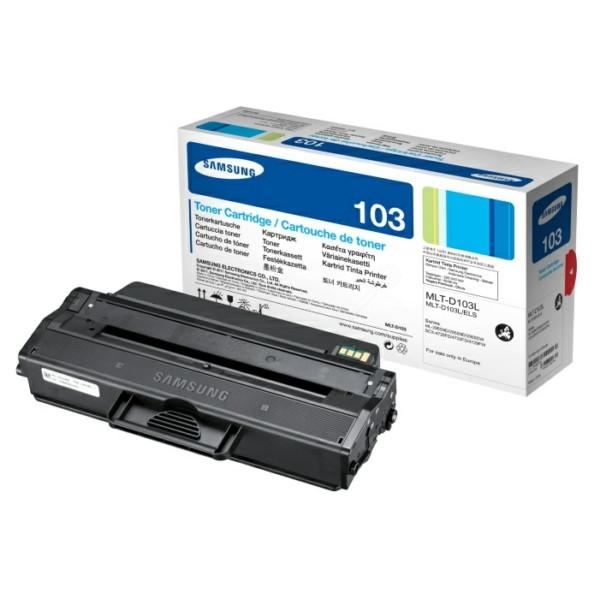 Original Toner schwarz Samsung MLTD103LELS/103L schwarz