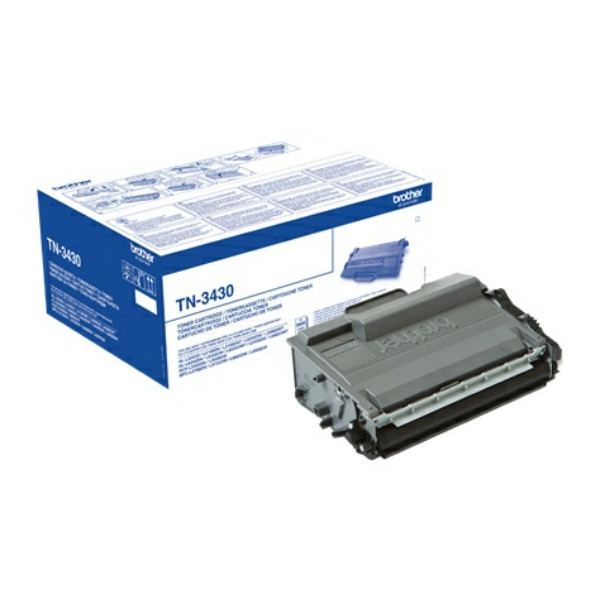 Original Toner schwarz Brother TN3430 schwarz