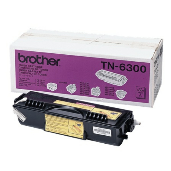 Original Toner schwarz Brother TN6300 schwarz