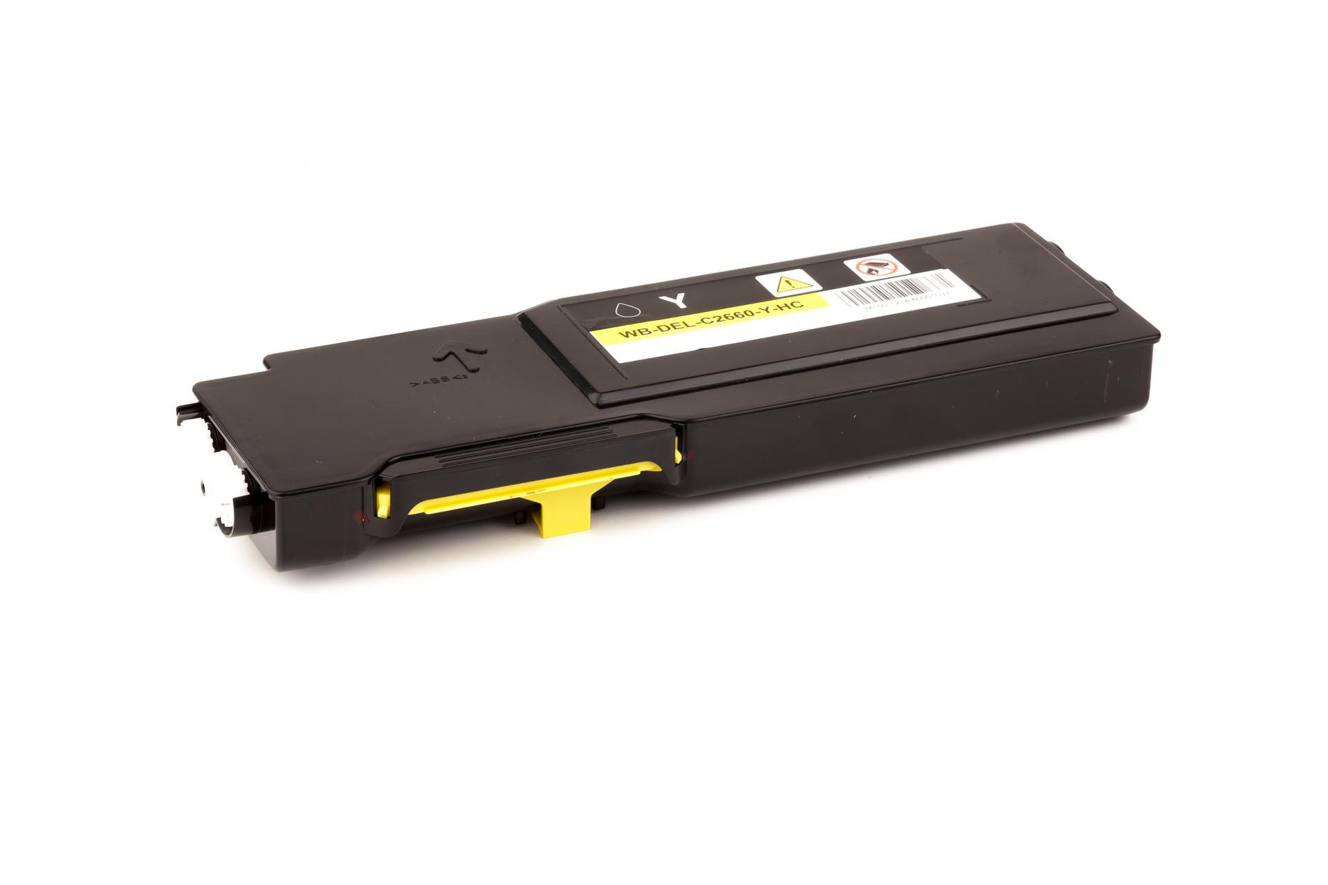 Alternativ-Toner für Dell YR3W3 / 593-BBBR gelb