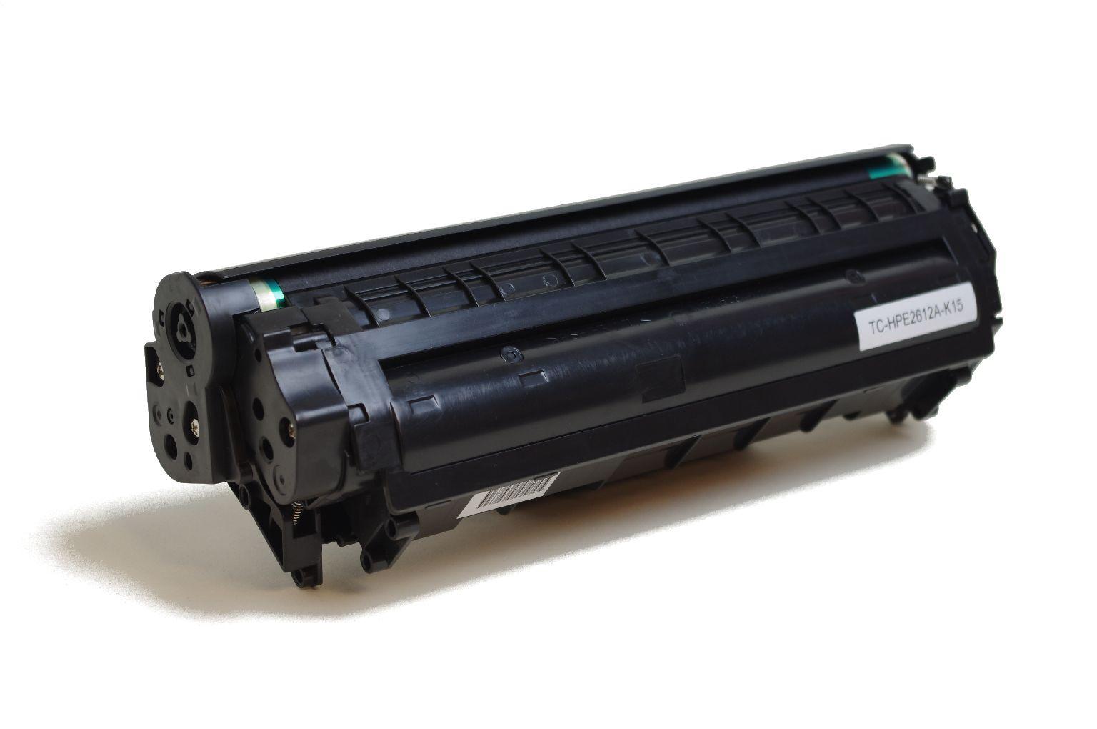 Alternativ-Toner fuer HP 12A / Q2612A schwarz