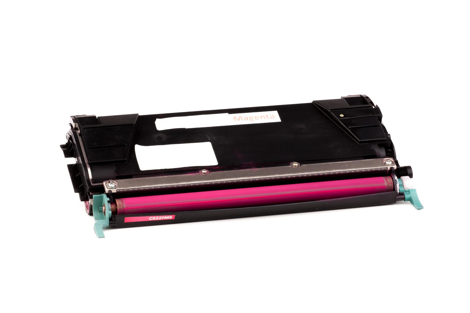 Alternativ-Toner für Lexmark C5222MS / XL-Version magenta