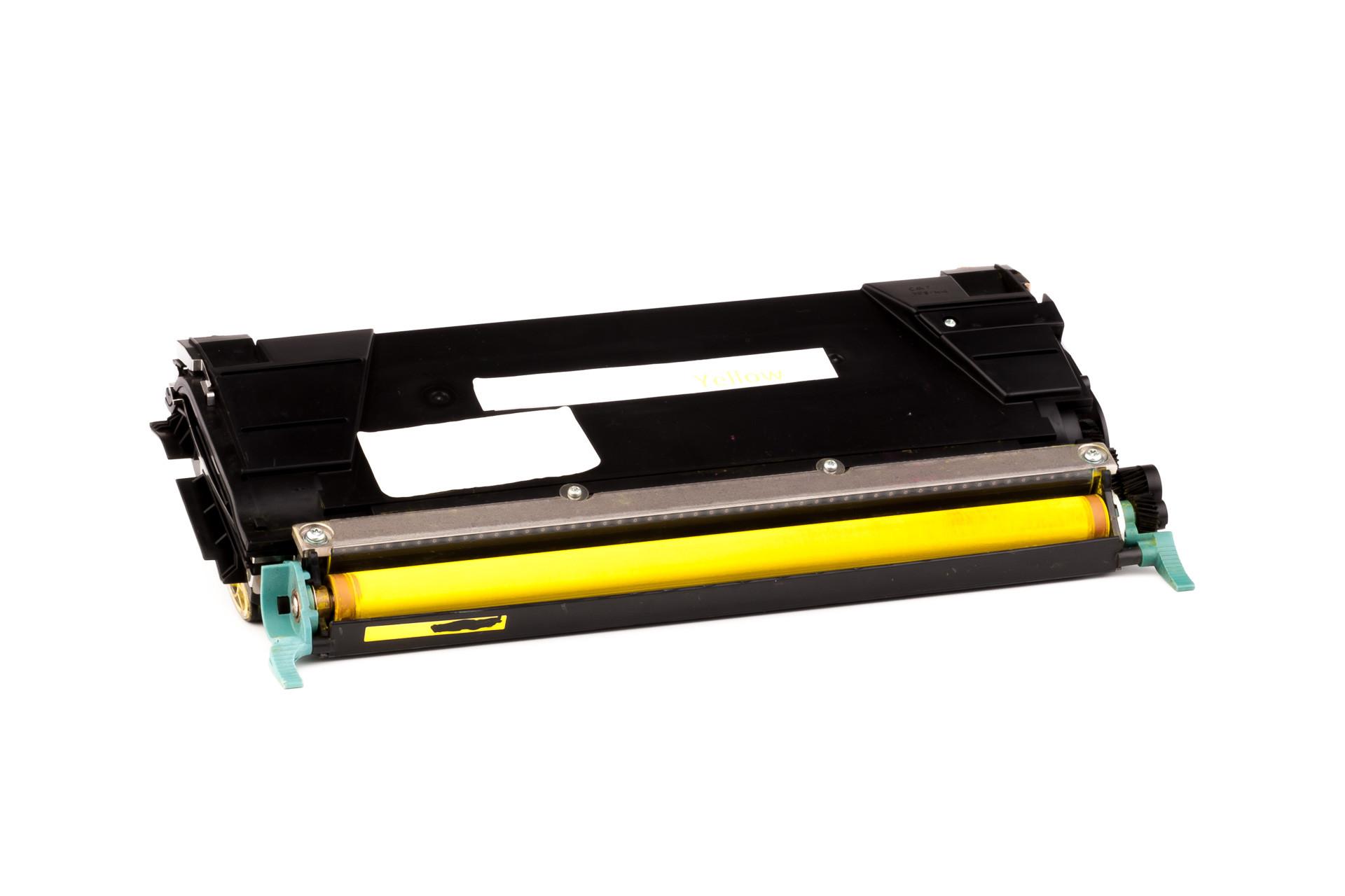 Alternativ-Toner für Lexmark C5222YS XL-Version gelb