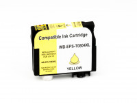 Alternativ-Tinte fuer Epson T0804 / C13T08044011 XL-Version gelb