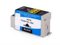 Bild fuer den Artikel IC-EPST3461bk: Alternativ Tinte EPSON 34 T3461 C13T34614010 XL Version in schwarz