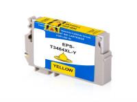 Bild fuer den Artikel IC-EPST3464ye: Alternativ Tinte EPSON 34 T3464 C13T34644010 XL Version in gelb