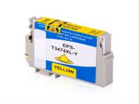 Bild fuer den Artikel IC-EPST3474Xye: Alternativ Tinte EPSON 34XL T3474 C13T34744010 XL Version in gelb