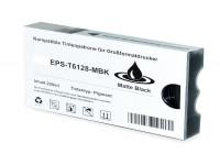 Bild für den Artikel IC-EPST612mbk: Alternativ-Tinte EPSON T6128 / C13T612800 in schwarzmatte