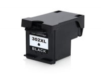 Bild für den Artikel IC-HPE302Xbk: ECO-Tinte/Druckkopf (rebuilt) für HP 302XL / F6U68AE XL-Version schwarz