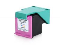Bild für den Artikel IC-HPE304tri: ECO-Tinte / Druckkopf (rebuilt) für HP 304XL / N9K07AE color
