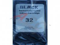 Alternativ-Tinte für Lexmark Nr. 32 / 018C0032E  schwarz