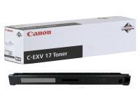 Original Toner schwarz Canon 0262B002/C-EXV 17 schwarz