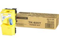 Original Toner Kyocera 02FZAEU0/TK-825 Y gelb