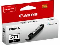 Original Tintenpatrone schwarz Canon 0385C001/571 BK schwarz