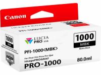 Original Tintenpatrone schwarz matt Canon 0545C001/PFI-1000 MBK schwarzmatte